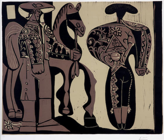 Pablo Picasso (Spanish, 1881-1973); Picador et Torero;