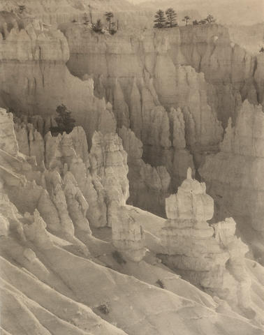 Laura Gilpin (American, 1891-1979); Bryce Canyon;