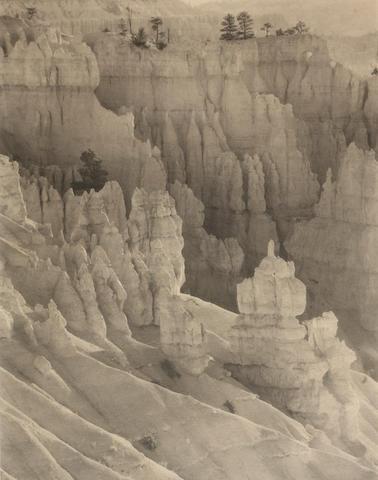 Laura Gilpin (American, 1891-1979); Bryce Canyon;