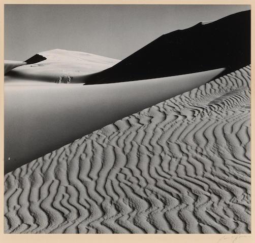 Ansel Adams (American, 1902-1984); Dunes, Oceano, California;