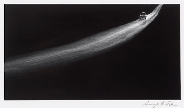 George Tice (American, born 1938); Country Road, Lancaster, Pennsylvania;