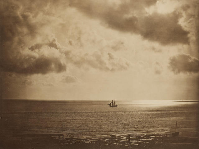 Gustave Le Gray (French, 1820-1882); Brig on the Water;
