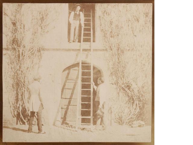 William Henry Fox Talbot (British, 1800-1877); The Ladder;