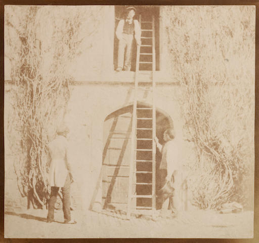 William Henry Fox Talbot (British, 1800-1877); The Ladder;