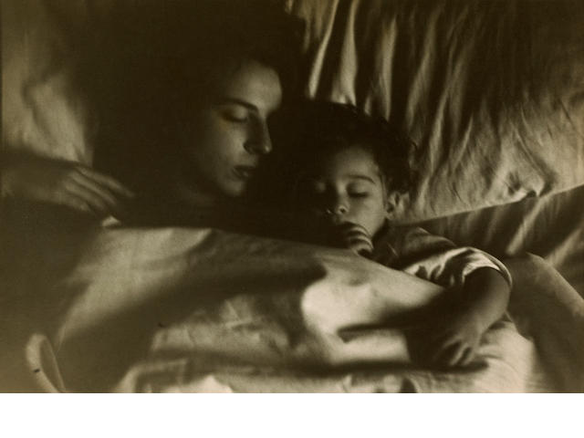 Robert Frank (American, born 1924); Mary and Pablo in Bed;