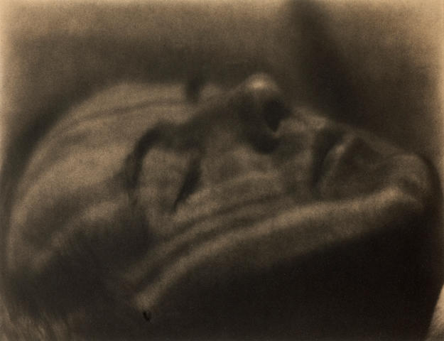 Margrethe Mather (American, 1885-1952); Henry Cowell (as a Brancusi sculpture);