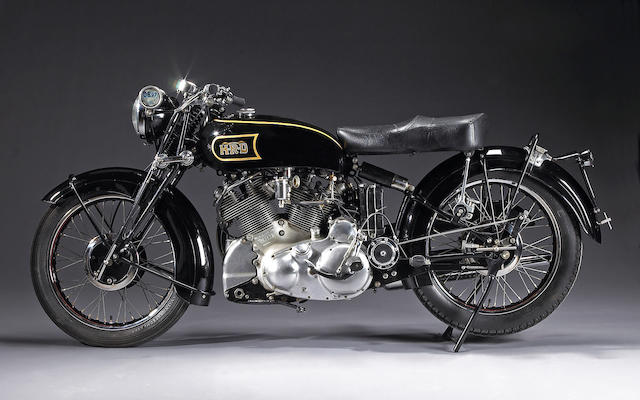 1948 Vincent-HRD 998cc Black Shadow Frame no. R3288 Engine no. F10AB/1/1298