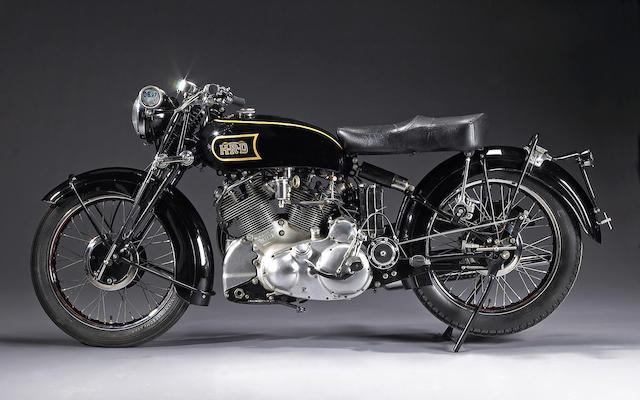 1948 Vincent-HRD 998cc Black Shadow Frame no. R3288 Engine no. F10AB/1/1298