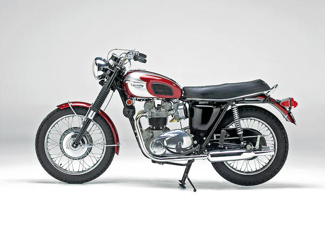 1970 Triumph 649cc T120R Bonneville Engine no. T120R HD56845