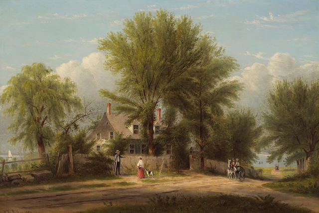 William Rickarby Miller, Hapelyea House