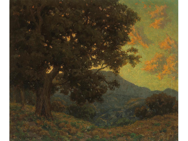 Granville Redmond  (1871-1935) California Oak 25 x 30in