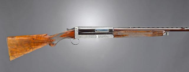 A 20 gauge Cosmi, Americo & Figlio Model de Luxe semi-automatic shotgun