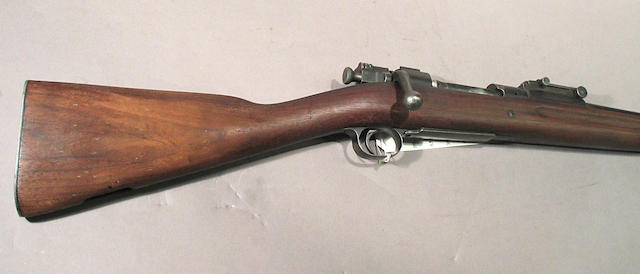A composite U.S. Model 1903 Springfield bolt action rifle