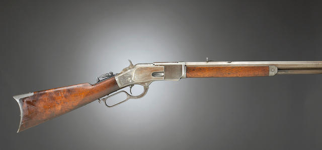 A rare Winchester Model 1873 One-of-One-Thousand rifle