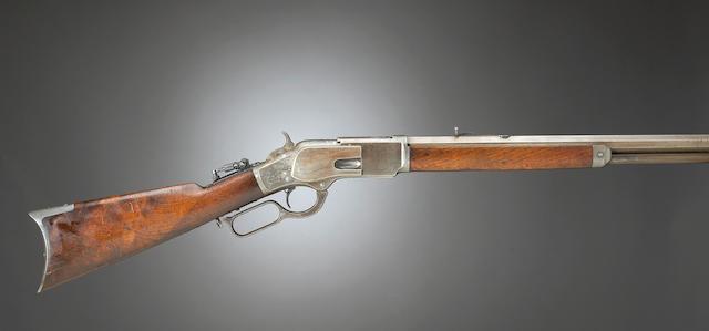 Bonhams : A rare Winchester Model 1873 One-of-One-Thousand rifle
