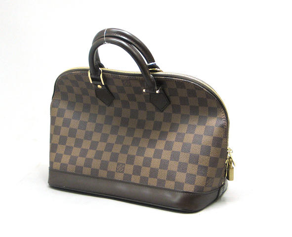 A Louis Vuitton Damier Canvas Alma bag