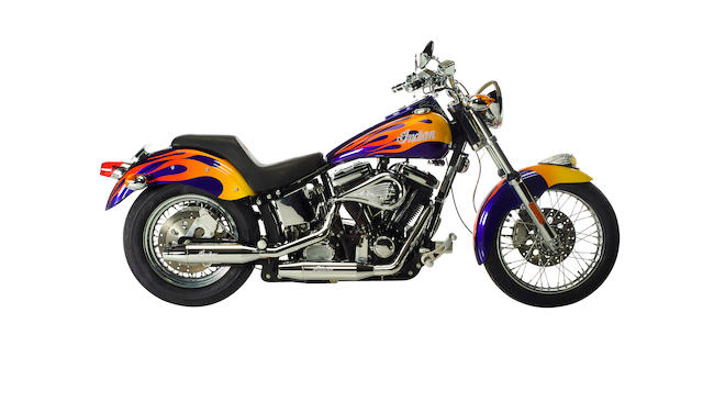 Bonhams : From the TV series Six Feet Under,2002 Indian 100ci Scout ...