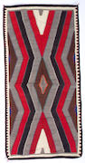 A Navajo Red Mesa rug, 7ft 5in x 3ft 9in