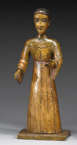 A New Mexican bulto, Attributed to The Santo Niño Santero,
