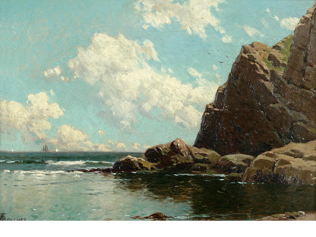 A.T. Bricher, Maine Seascape