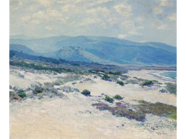 Guy Rose (American, 1867-1925) Carmel Shore 24 x 29in