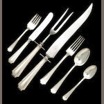 Sterling Assembled Fairfax Flatware Set by Durgin/Gorham