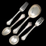 Sterling Norfolk Flatware Set by Gorham