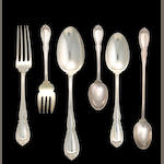 Sterling Wellington Flatware Set by Durgin
