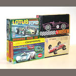 Plastic model racecar kits