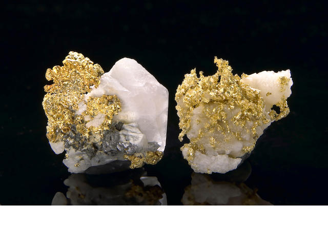 Two Gold Specimens, .8885ozt