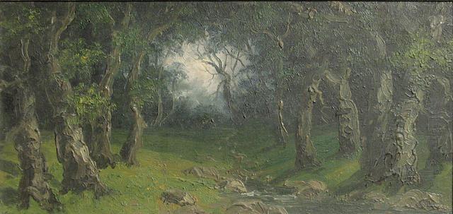 Annie Harmon  Stream through the Forest