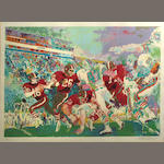 LeRoy Neiman (American, born 1926); Post-Season Football Classic;