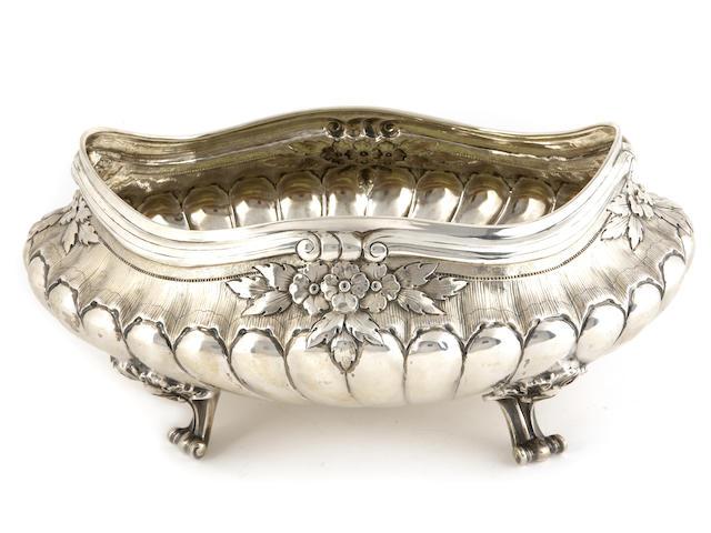 Edward VII Silver Centerpiece Bowl by Elkington & Co.