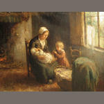 Ana Carolina Van Den Berg, Mother and children, o/c