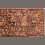 A Bakthiari long rug size approximately 5ft. x 10ft.