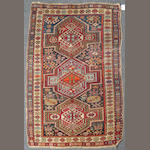 A Shirvan rug size approximately 3ft. 8in. x 4ft. 2in.