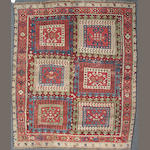 A Turkish rug size approximately 3ft. 5in. x 5ft. 7in. (cut and reduced)
