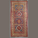 A Lenkoran rug size approximately 3ft. 3in. x 6ft. 4in.