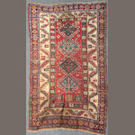 A Kazak rug size approximately 3ft. 7in. x 4ft. 2in.