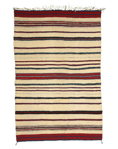 A classic Hopi or Navajo child's blanket