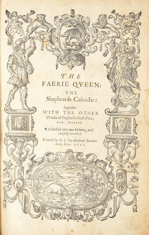 SPENSER, EDMUND.  1552?-1599.