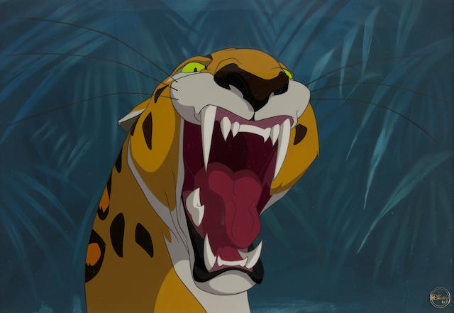 "A Walt Disney celluloid from ""Tarzan"""
