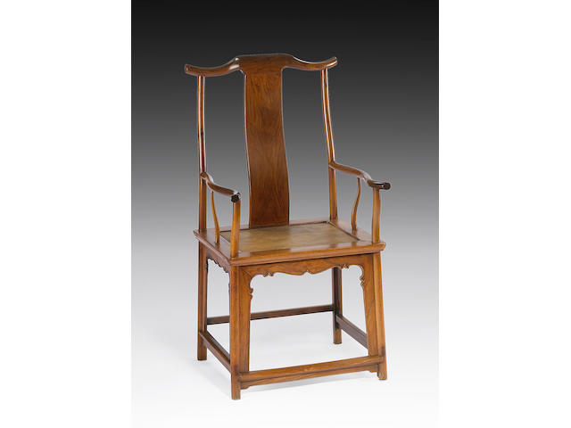A huanghuali official's armchair (guanmaoyi) 17th Century