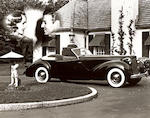c.1938 Packard Model 120 Darrin Convertible  Chassis no. A309389