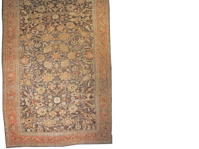 A Sultanabad carpet Central Persia, size approximately 13ft. 4in. x 22ft. 5in.