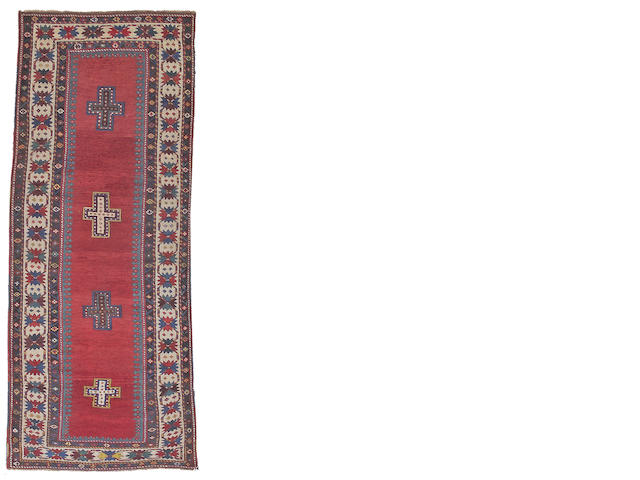 A Talish rug Central Caucasus, size approximately 3ft. 7in. x 9ft. 2in.