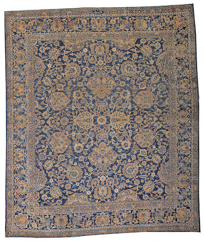 A Kerman carpet South Central Persia, size approximately 10ft. 6in. x 12ft. 6in.