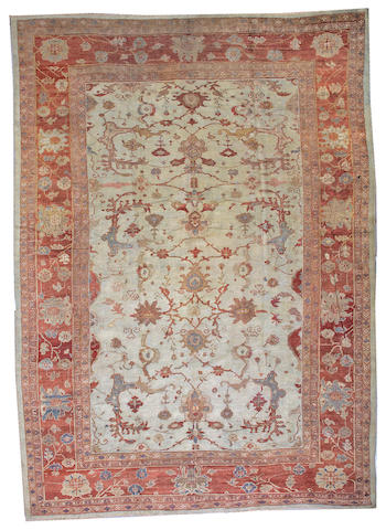 A Ziegler Sultanabad carpet Central Persia, size approximately 10ft. 6in. x 14ft. 6in.