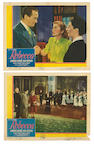 "Two lobby cards from ""Rebecca"""