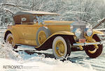 From the motion picture Great Gatsby starring Robert Redford, Mia Farrow, Sam Waterson and Bruce Dern,1928 Rolls-Royce 40/50hp Phantom I Ascot Dual Cowl Sport Phaeton  Chassis no. S304KP